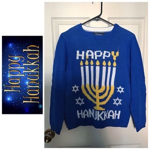 Boys Hanukkah Sweater NWOT